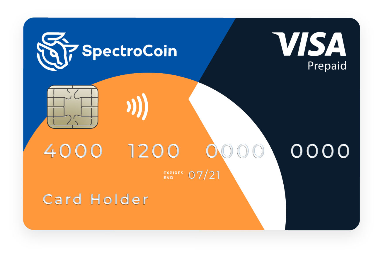 SpectroCoin Debit Card